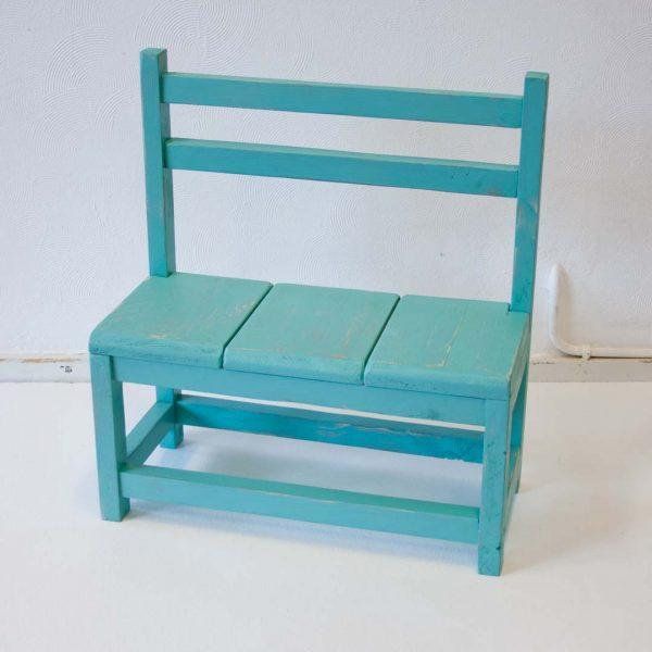 Kinderbankje Turquoise