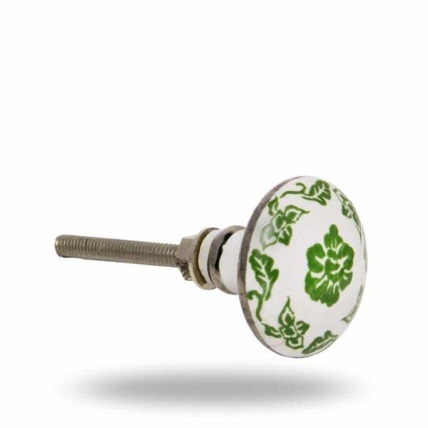 Ceramic Greenery Knob